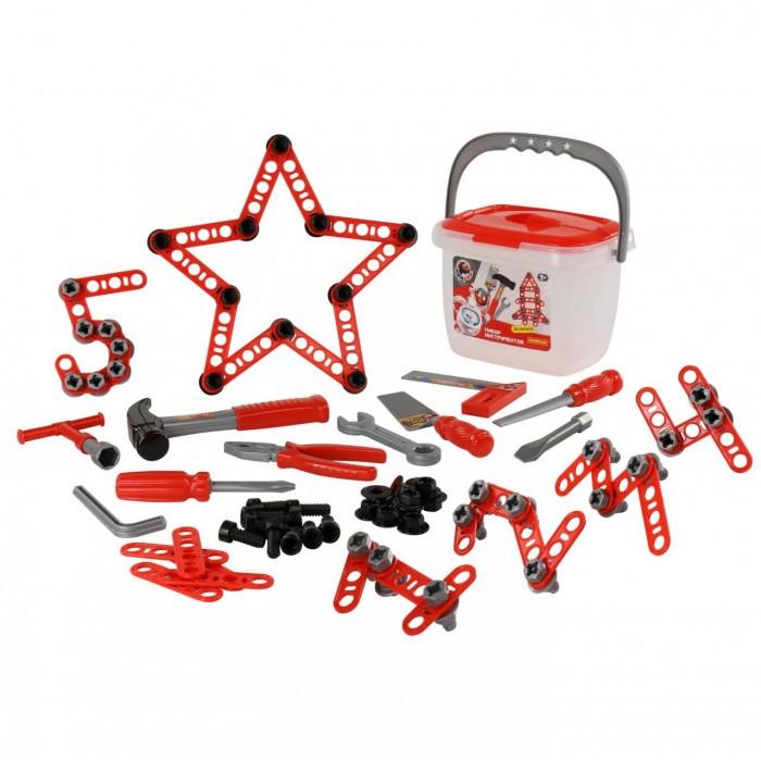 Игровые наборы Полесье Набор инструментов Смешарики-Пин код (132 элемента)