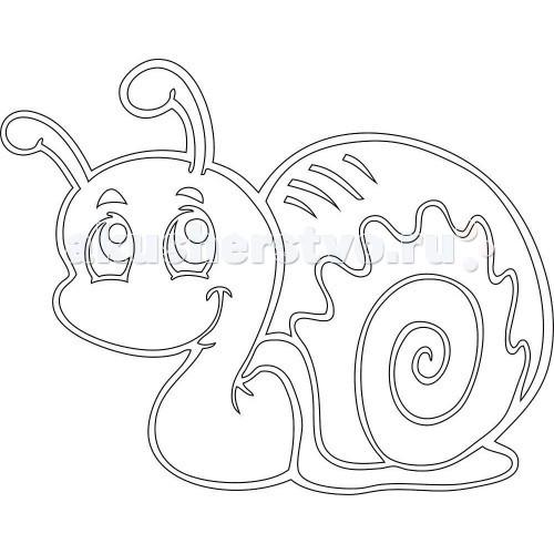 Наборы для творчества Kidsation Песочный трафарет Улитка № 2 улитка где можно в волгограде цена