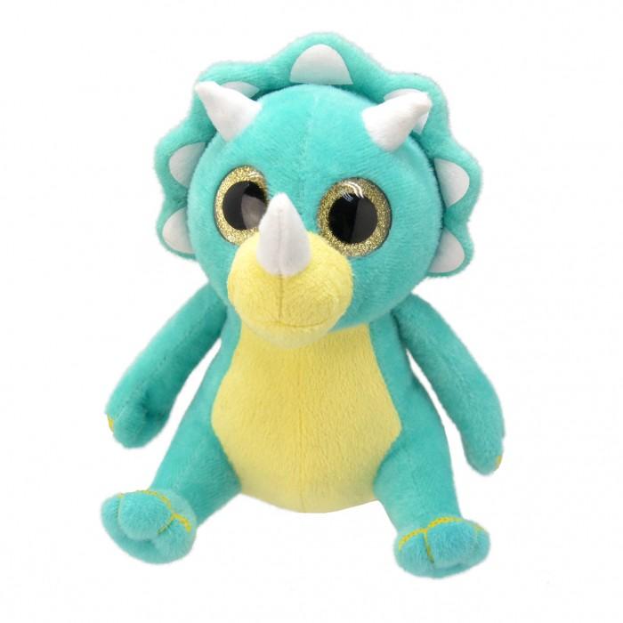 Купить Мягкие игрушки, Мягкая игрушка Wild Planet Динозавр-трицераптор 25 см