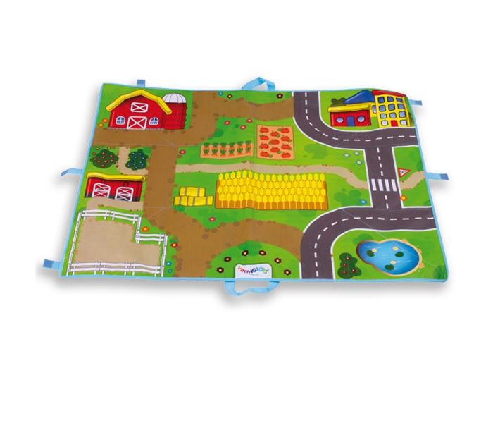 Игровой коврик Viking Toys Поле Viking City Ферма фото