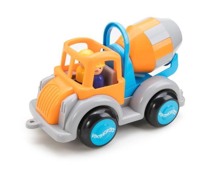 Машины Viking Toys Машинка Цементовоз Jumbo с 2 фигурками