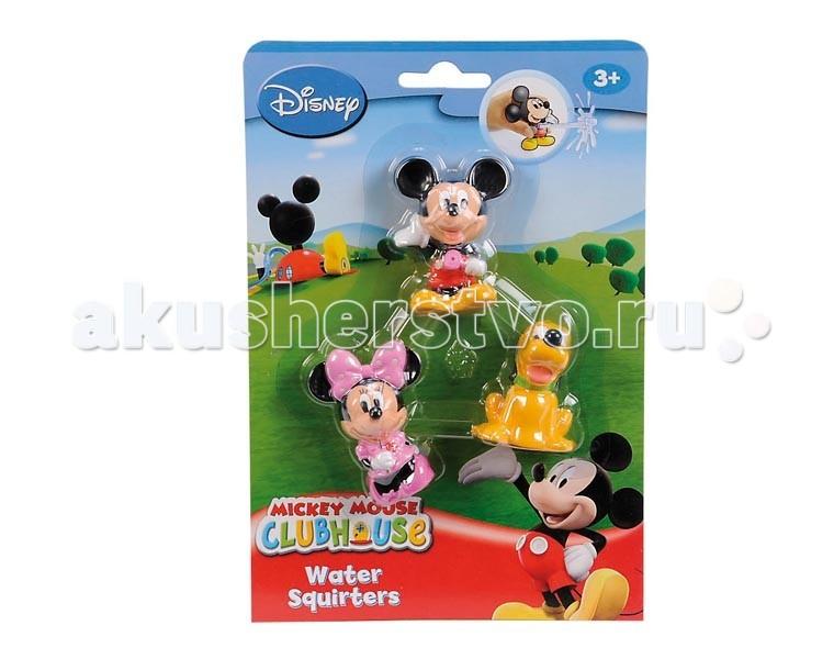 Игрушки для ванны Simba Брызгалки Микки Маус 3 шт. simba игрушки дл ванны 4012072