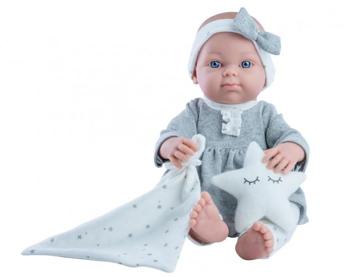 Paola Reina Кукла Бэби с полотенцем и звёздочкой 32 см фото