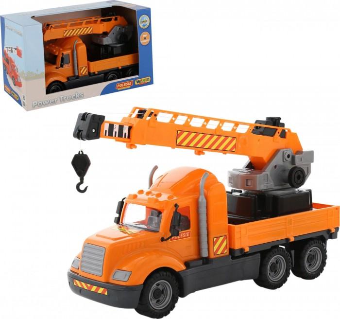 Полесье Автомобиль-кран с поворотной платформой Майк 61966_PLS