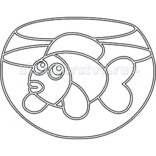 Наборы для творчества Kidsation Песочный трафарет с магнитом Аквариум аквариум на 600 1000 литров с рук