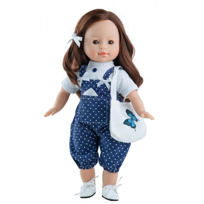 Paola Reina Кукла Вирхи 36 смКуклы и одежда для кукол<br>Paola Reina Кукла Вирхи 36 см  Особенности: Кукла с мягко набивным телом.  У куклы уникальный и неповторимый дизайн лица и тела.  Ручная работа (ресницы, веснушки, щечки, губы, прическа).   Волосы - очень похожи на натуральные, легко расчесываются и блестят.  Глазки закрываются.  Кукла одета в эксклюзивную одежду из высококачественного текстиля, имеет нежный ванильный аромат (гипоаллергенна).  Качество подтверждено нормами безопасности EN71 ЕЭС.  Материалы: кукла изготовлена из винила; глаза выполнены в виде кристалла из прозрачного твердого пластика.