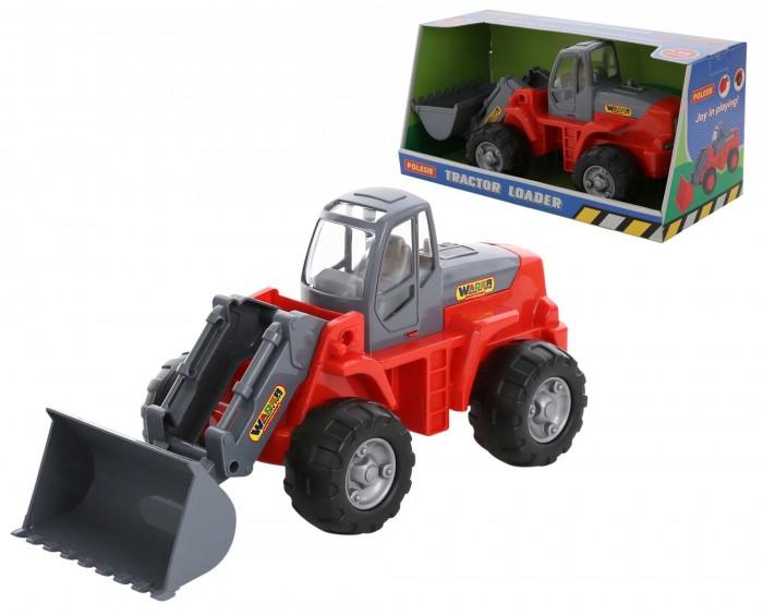 Машины Полесье Трактор-погрузчик 9661_PLS машины полесье трактор погрузчик
