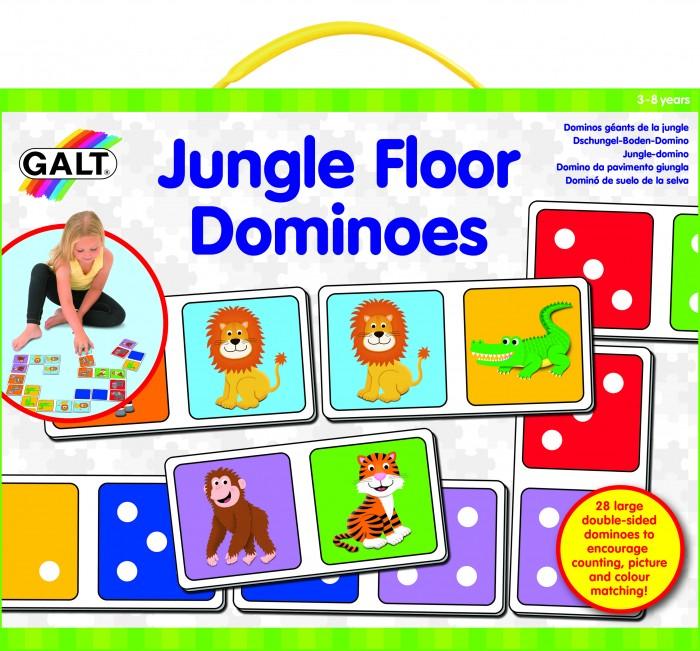 Развивающая игрушка Galt Напольное домино Джунги