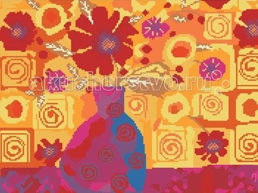 Творчество и хобби , Картины своими руками Molly Картины со стразами 2.8 мм Оранжевая композиция арт: 71018 -  Картины своими руками