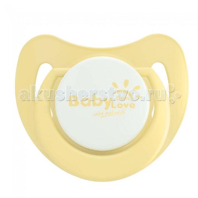 Пустышки Baby Sun Love силиконовая с 6 мес. пустышки nuk ортодонтическая силиконовая baby rose размер 2 6 18 мес