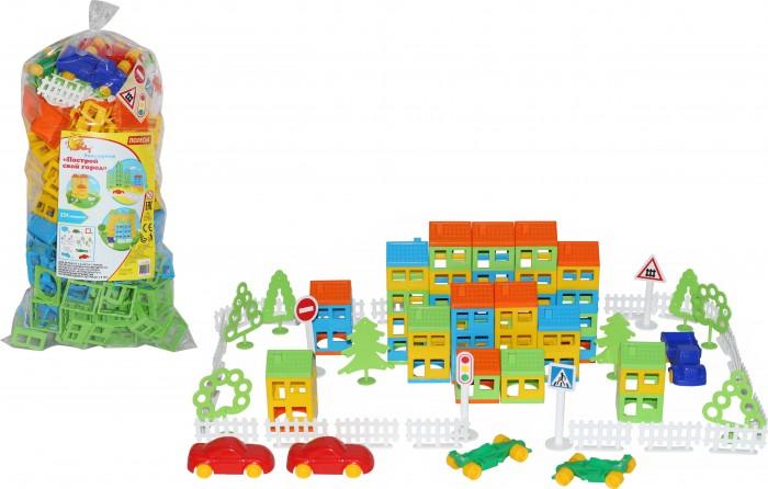 polesie построй свой город 224 элемента Конструкторы Полесье Построй свой город (224 элемента) 53756_PLS