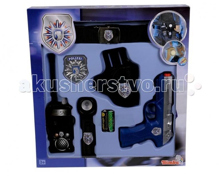 Ролевые игры Simba Полицейский пояс с принадлежностями купить в минске газовый баллончик