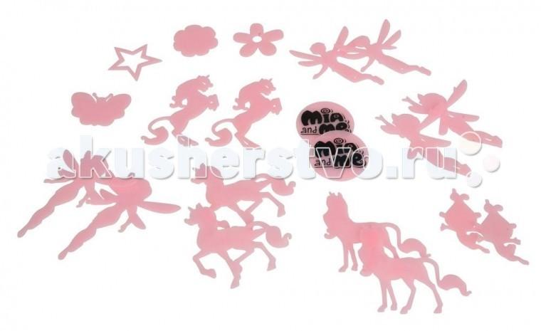 Ночники Simba Наклейки светящиеся Mia and Me simba светящиеся наклейки ночнички