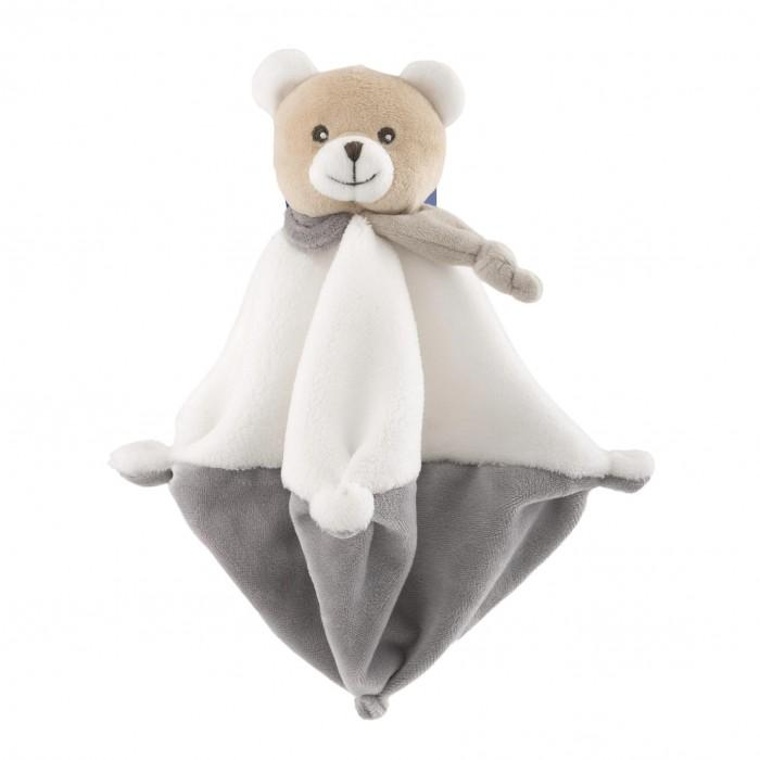Мягкая игрушка Chicco Медвежонок Doudou с одеяльцем