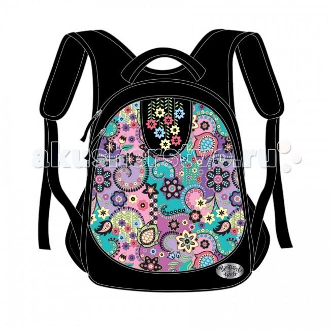 Развитие и школа , Школьные рюкзаки Pampered Girls Рюкзак стандартный EVA Клематис арт: 71062 -  Школьные рюкзаки
