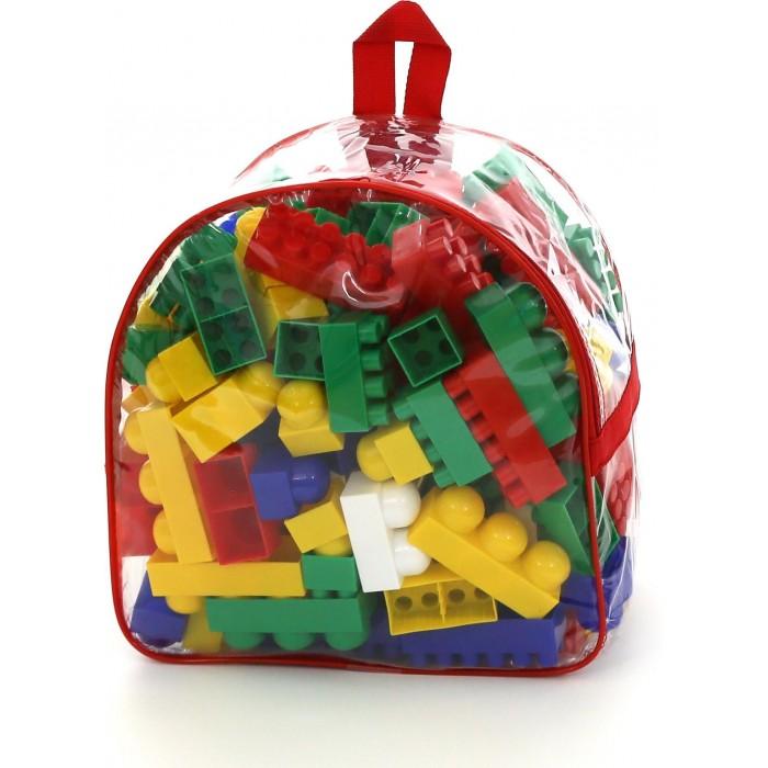 Конструктор Полесье Супер-Микс в рюкзаке (144 элемента)