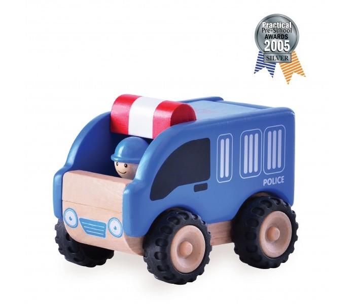 Деревянная игрушка Wonderworld Полицейская машинка Miniworld