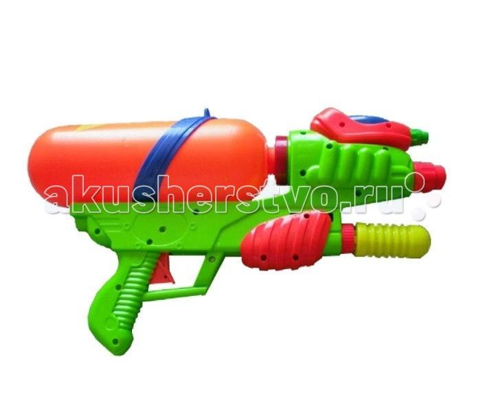 Игрушечное оружие Тилибом Водный пистолет 40 см водный пистолет тилибом с 2 отверстиями 30 см