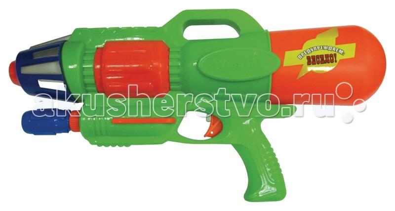 Игрушечное оружие Тилибом Водный пистолет с помпой 44 см водный пистолет тилибом с 2 отверстиями 30 см