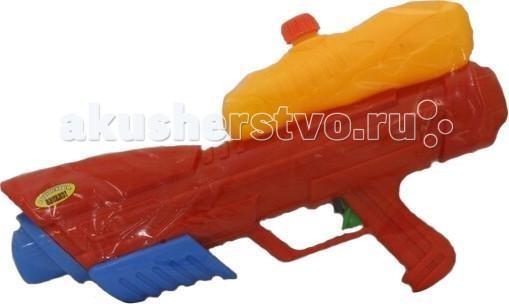 Игрушечное оружие Тилибом Водный пистолет с помпой 45 см водный пистолет тилибом с 2 отверстиями 30 см