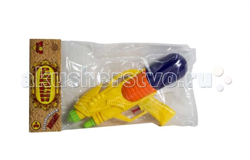 Игрушечное оружие Тилибом Водный бластер 26х13 см водный пистолет тилибом с 2 отверстиями 30 см