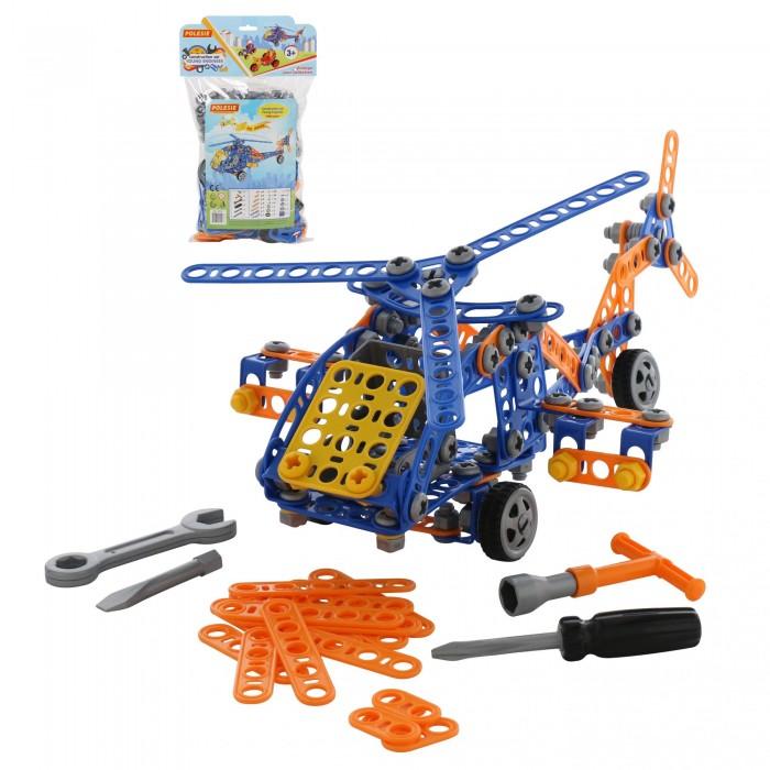 Купить Конструкторы, Конструктор Полесье Изобретатель Вертолёт №2 (232 элементов)