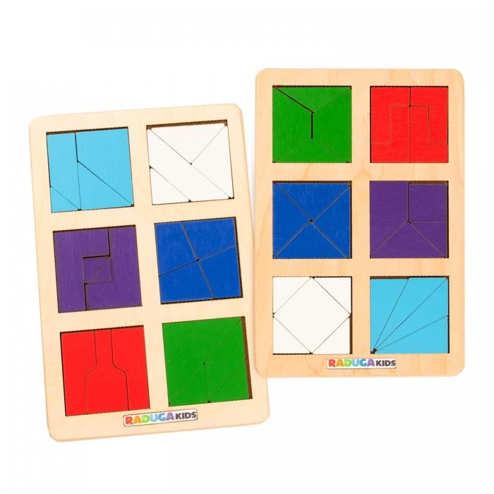 Деревянные игрушки Raduga Kids Головоломка Сложи квадрат Б.П. Никитин уровень 2