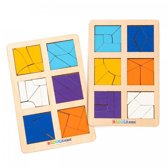 Деревянные игрушки Raduga Kids Головоломка Сложи квадрат Б.П. Никитин уровень 3