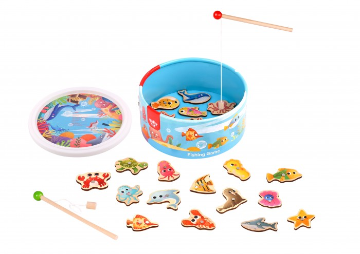 Купить Tooky Toy Игра Рыбалка в интернет магазине. Цены, фото, описания, характеристики, отзывы, обзоры