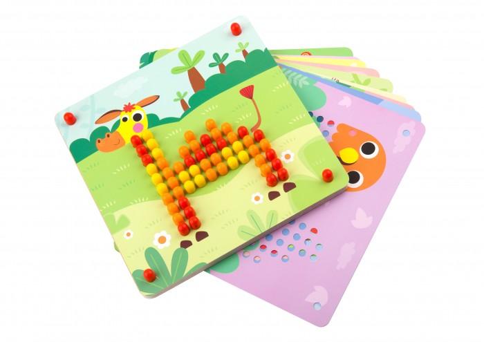 Tooky Toy Мозаика Животные (210 фишек) фото