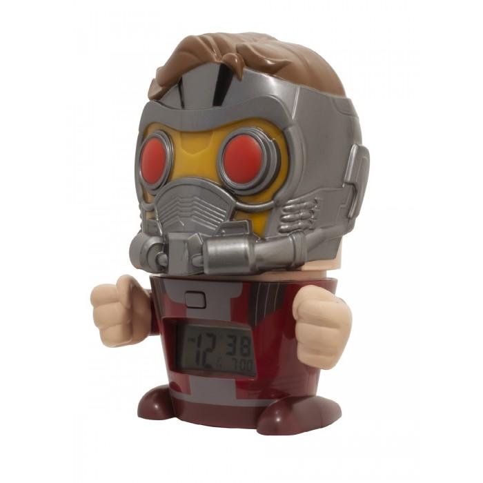 Часы Марвел (Marvel) Будильник BulbBotz минифигура Star-Lord Звездный Лорд 14 см