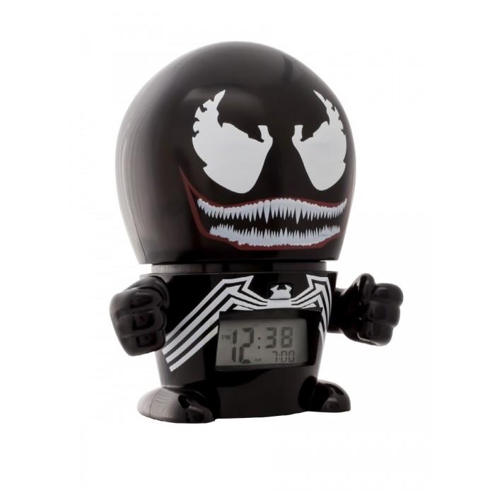 Часы Марвел (Marvel) Будильник BulbBotz минифигура Venom Веном 14 см