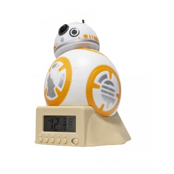 Часы Star Wars Звёздные Войны Будильник BulbBotz минифигура BB-8 14 см фото