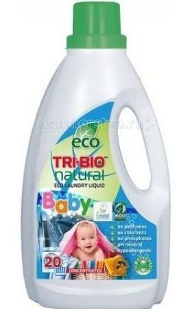 Бытовая химия Tri-Bio Натуральная Эко жидкость для стирки 0.94 л биосредство для мытья полов tri bio 940 мл