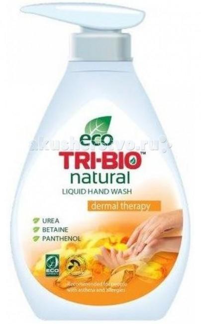 Косметика для мамы Tri-Bio Натуральное эко крем-мыло Дермотерапия 240 мл биосредство для мытья полов tri bio 940 мл