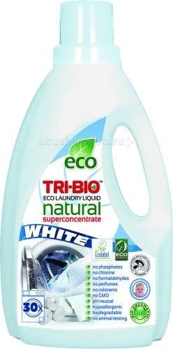 Tri-Bio Натуральная эко-жидкость для стирки белого белья 1.42 л