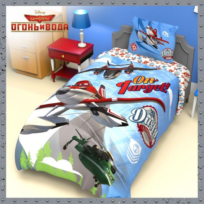Постельное белье Disney Самолеты Огонь и вода 1.5-спальное (3 предмета)