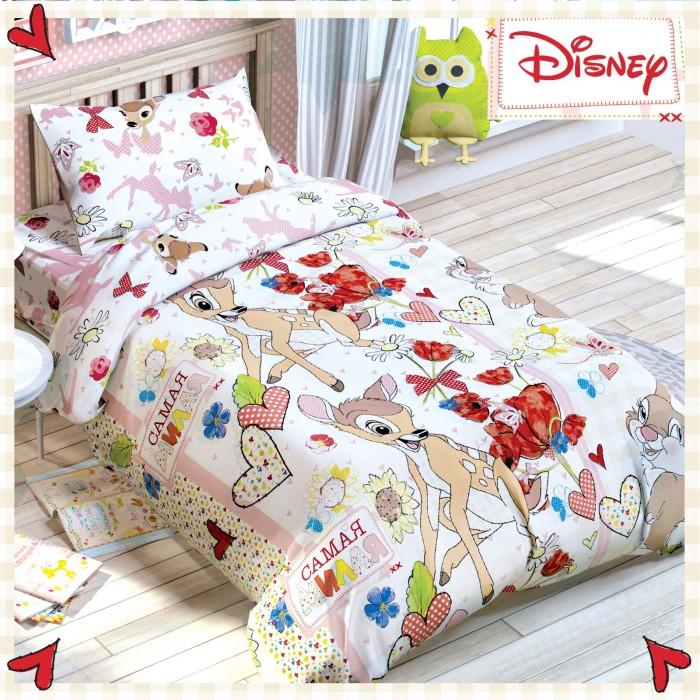 Постельное белье Disney Бемби 1.5-спальное (3 предмета)