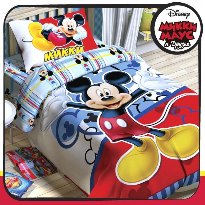 Постельное белье Disney Микки Маус 1.5-спальное (3 предмета)