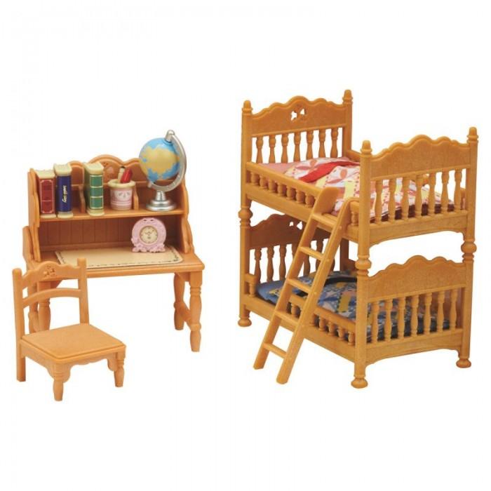 Купить Кукольные домики и мебель, Sylvanian Families Набор Детская комната с двухэтажной кроватью