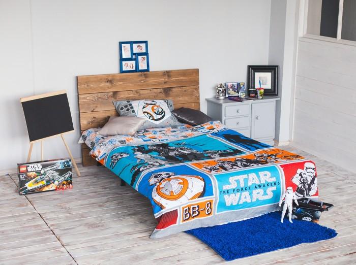 Постельное белье Star Wars Звездные войны 1343346 1.5-спальное (3 предмета)