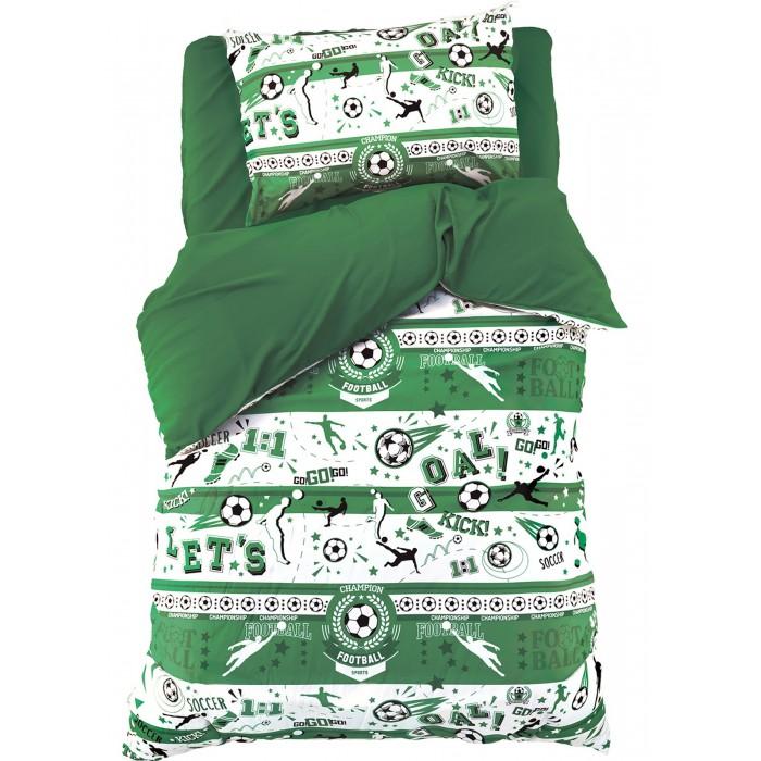 Купить Постельное белье 1.5-спальное, Постельное белье Этель Goal 1.5-спальное (3 предмета)