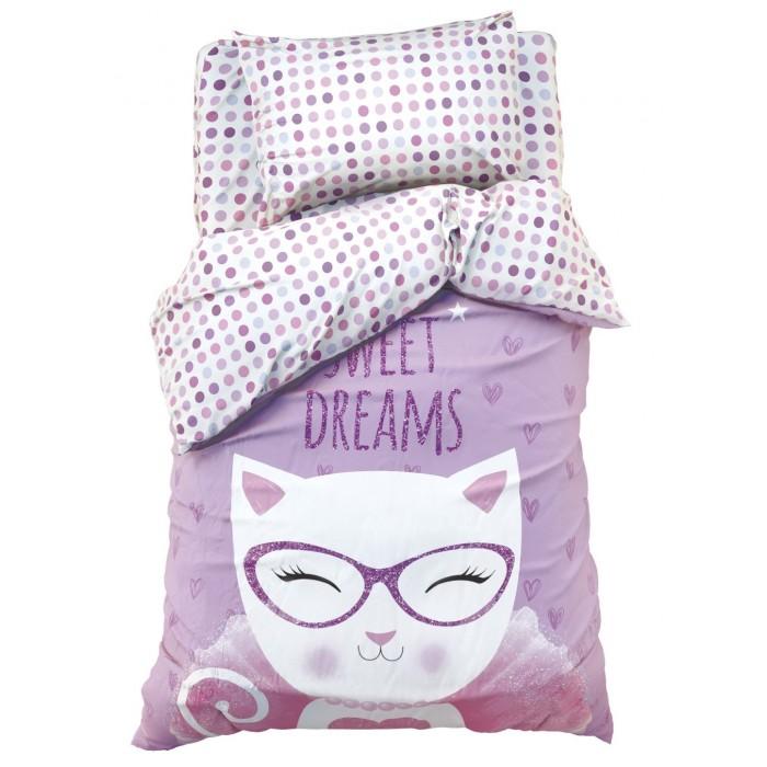 Постельное белье 1.5-спальное, Постельное белье Этель Сладкие мечты 1.5-спальное (3 предмета)  - купить со скидкой