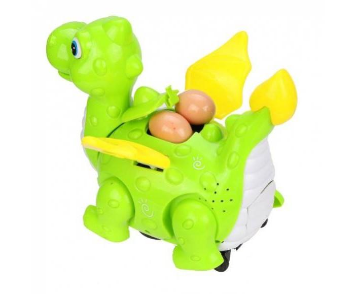 Картинка для Электронные игрушки Наша Игрушка Электронная игрушка Дракончик-мама 3 яйца в комплекте