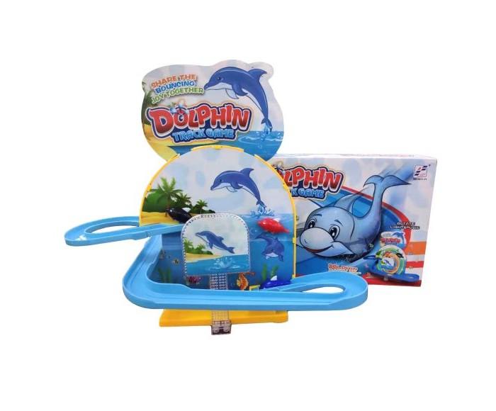 Электронные игрушки Наша Игрушка Электронная игрушка Горка с 3 дельфинами