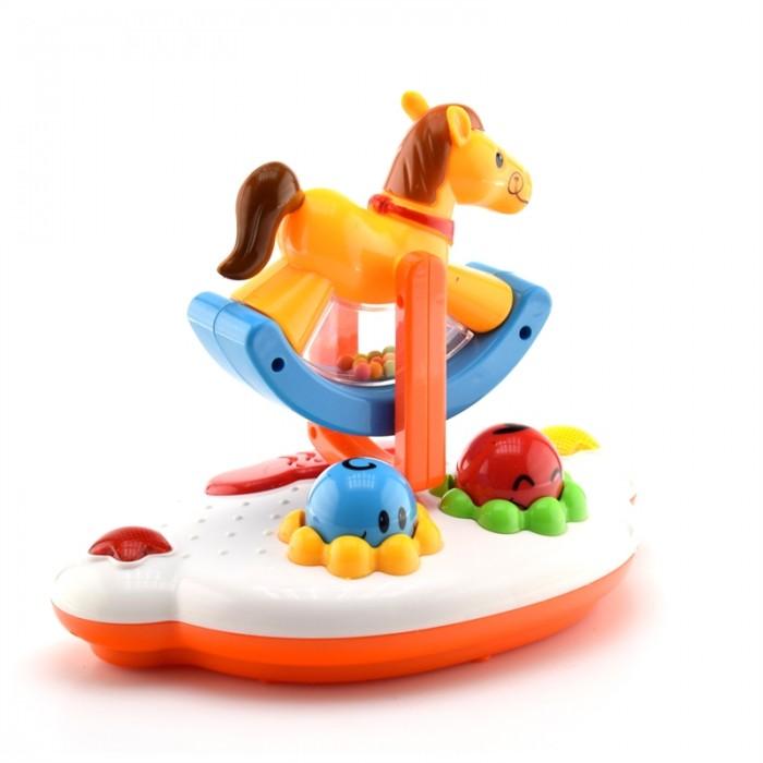Электронные игрушки Наша Игрушка Электронная игрушка Карусель с лошадкой Облако заботы игрушка