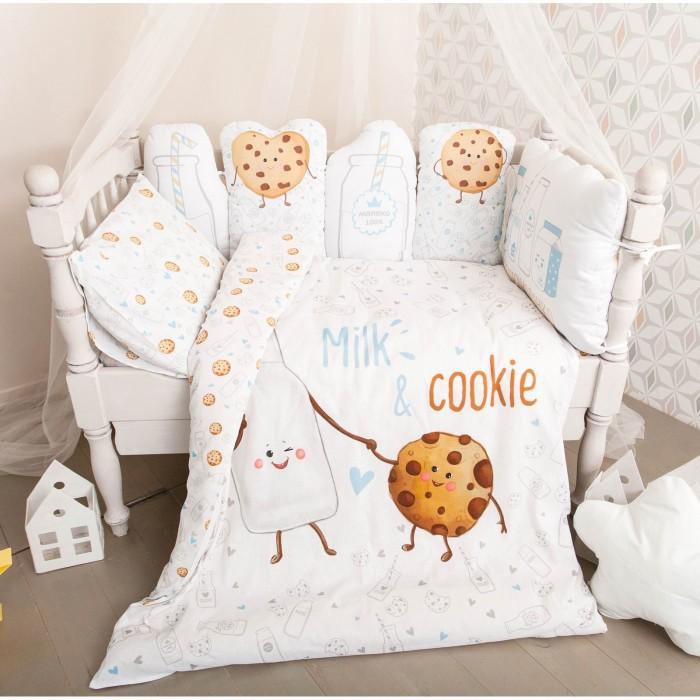Постельное белье Крошка Я Milk & Cookie (3 предмета)