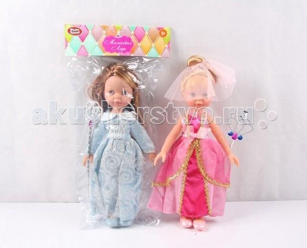 Куклы и одежда для кукол Play Smart Кукла Маленькая леди 30 см Р41092-1 кукла маленькая леди даша в платье 1979746