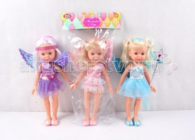 Куклы и одежда для кукол Play Smart Кукла Маленькая леди 30 см Р41099 автомат play smart снайпер р41399
