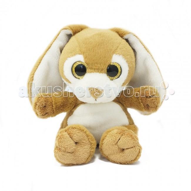 Мягкие игрушки Maxitoys Зайчонок 15 см мягкие игрушки maxitoys панда с цветочком 22 см